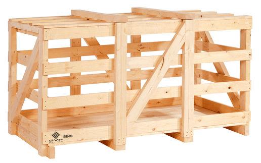 embalagem de madeira e bim para poupa
