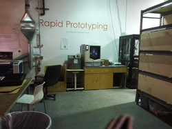Generator - 3-D Printer and Prototyping Area