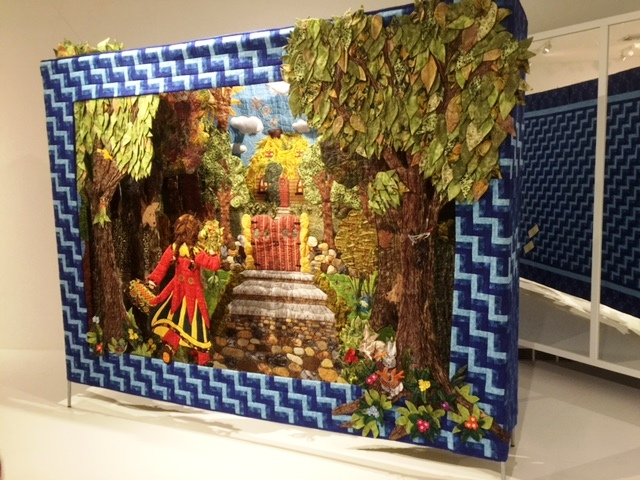 Dominique Ehrmann Tunnel Book Story Quilt