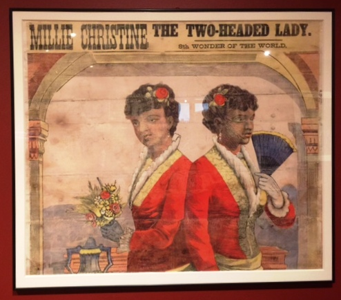 Circus Poster - Two-Headed Lady