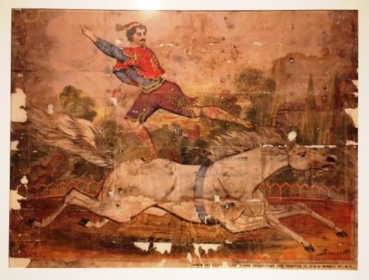 Circus Poster - Horseback Rider