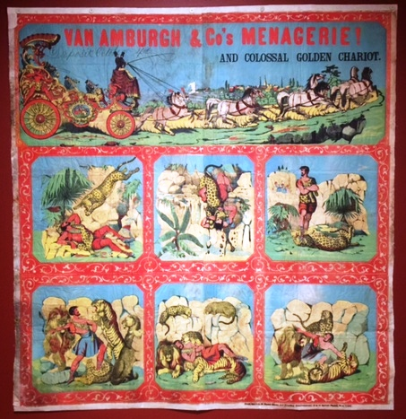 Circus Poster - Golden Chariot