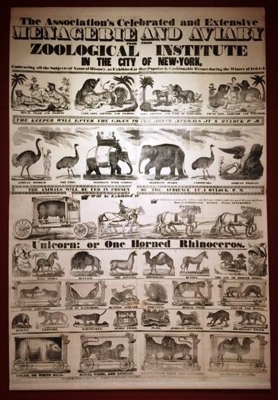 Circus Poster - Menagerie