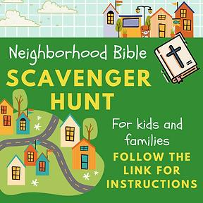 CLC Kids Neighborhood Bible Scavenger Hu