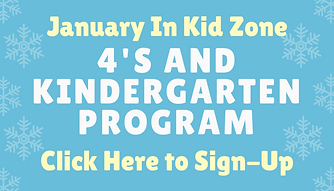 CLC Kids preschool and kindergarten sign