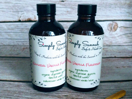 New! Natural & Non-Alcoholic Flavouring