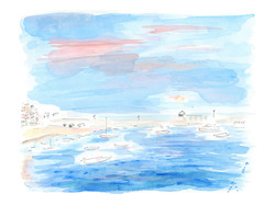'Blue Harbour, St Ives'