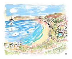 'Pretty Carbis Bay, 2021'