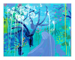 'Through The Park, Spring'