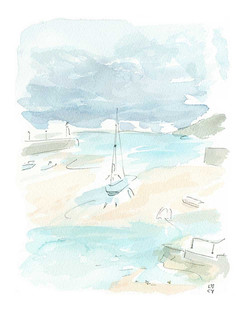 'Sail Away, St Ives'