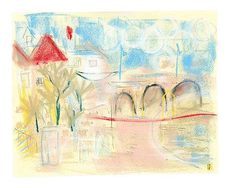 'The Arches, Winter' ORIGINAL