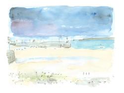 'Violet Twilight, St Ives'