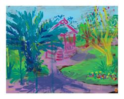 'Bandstand, Morab Gardens'