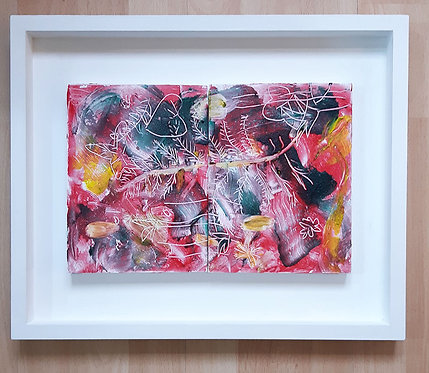 'Frames 3 & 4, A Memory Of Summer As Autumn Turned To Winter' ORIGINAL