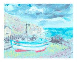 'March, Penberth Cove'