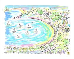 'Carbis Bay, St Ives, June 2021'
