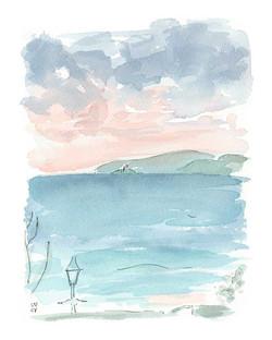 'Godrevy Dusk, St Ives'