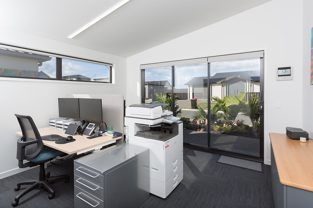 Home and Income - office