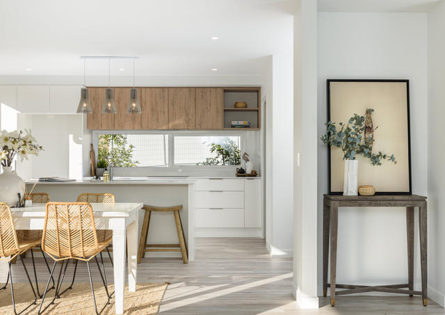 Small but Smart, House and Land, Tauranga:  Built by award winning Tauranga builders: Thorne Group.  Designed by multi-award winning architectural designers:  Thorne Group Architecture.