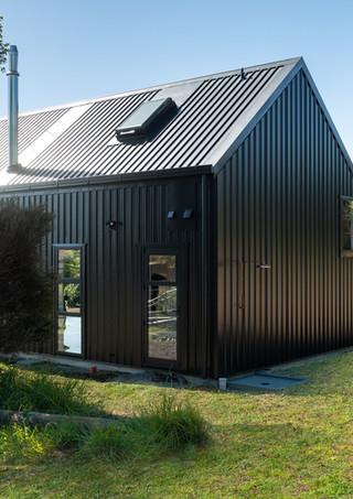 Modern Country Black Barn