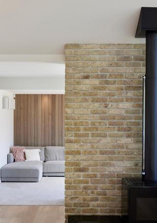 Brick and cedar country home