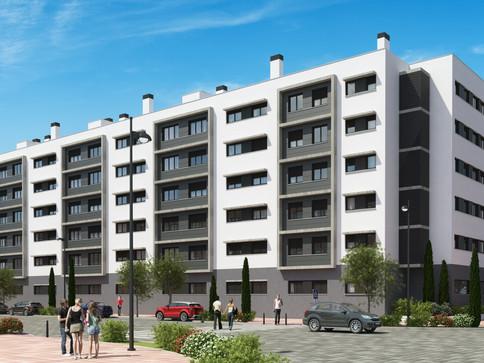los molinos collective housing - madrid