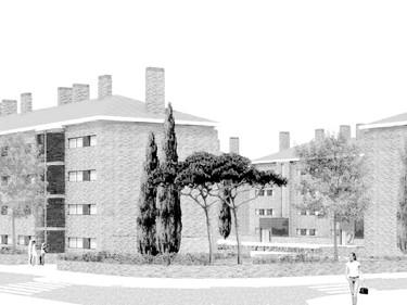 majadahonda collective housing - madrid