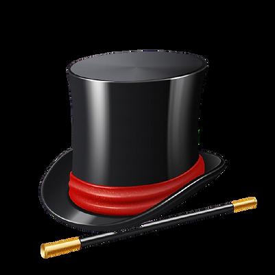 sombrero-mago-realista-palo-magico_1284-