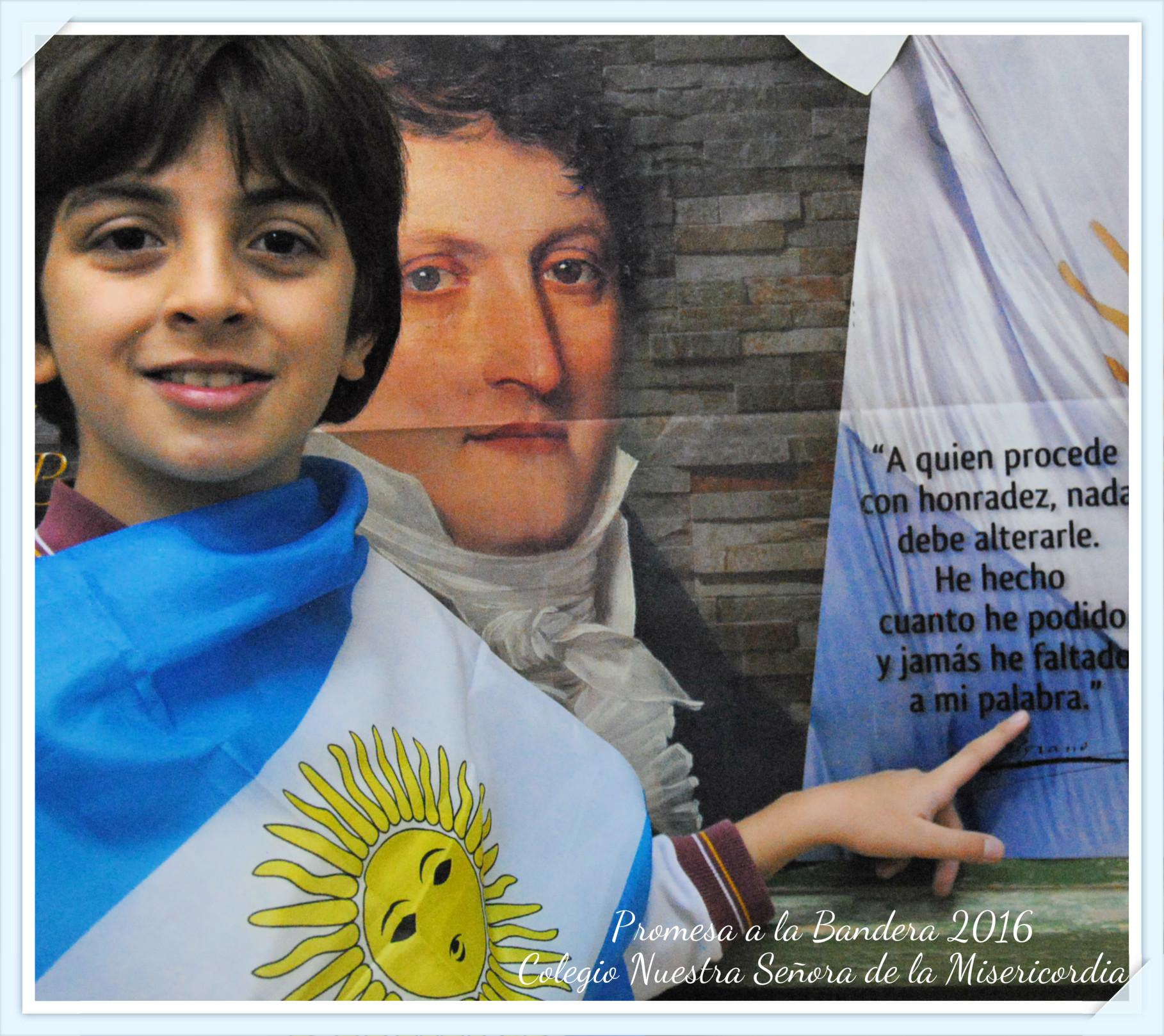 Promesa a la bandera