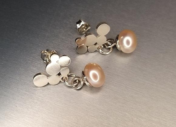 Prosecco small earrings