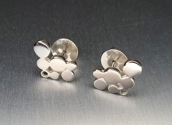 Cupla stud earrings