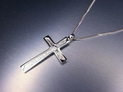 Unique custom made silver cross. Designed and crafted in 2020.