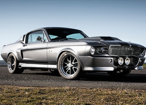 FORD MUSTANG FASTBACK ELEANOR 1967