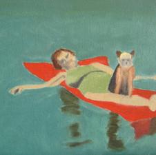 babe & me floating