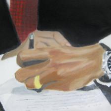 obama hands