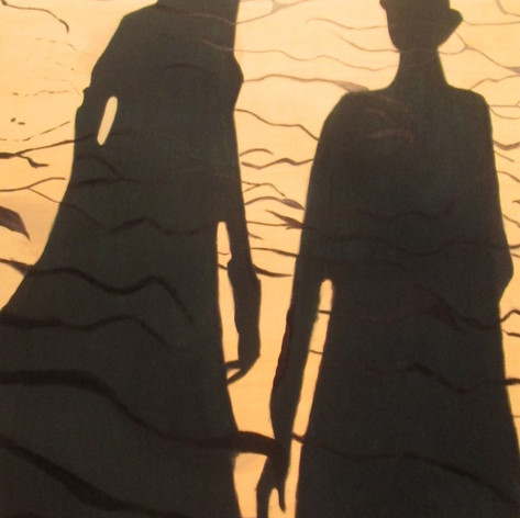 double beach shadow