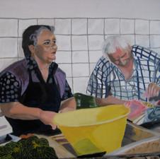 fish market - azenjos do mar