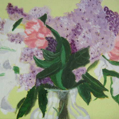 lilacs,lilies & peonies
