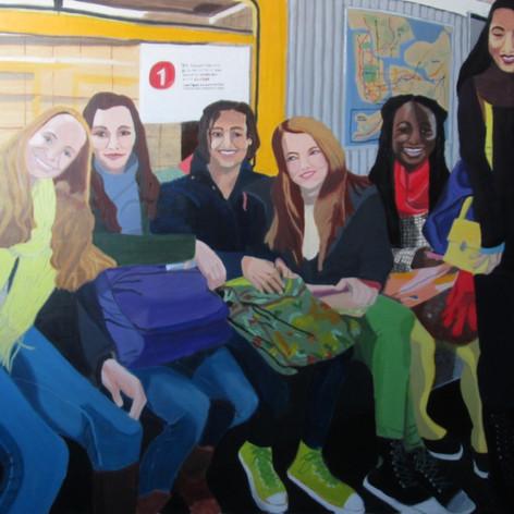 les demoiselle de subway
