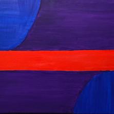 blue red purple
