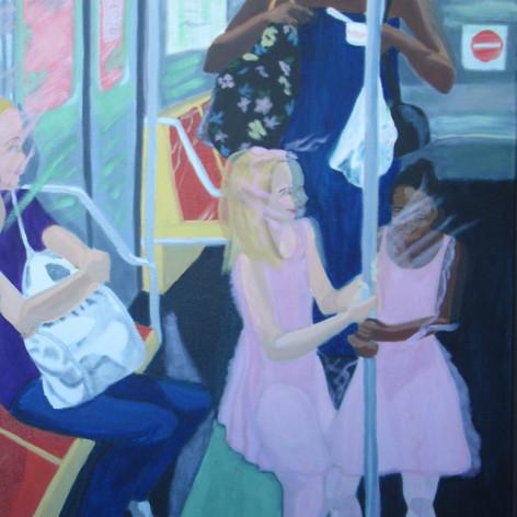 subway ballerinas