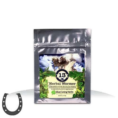 #13 Herbal Wormer - Horses 11 serv/30z. bag