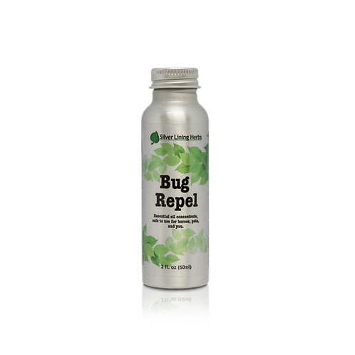 Bug REPEL 2 oz. Concentrate (SilverLiningHerbs)