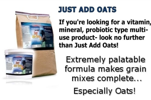 Just Add Oats-horse vitamin/mineral supplement