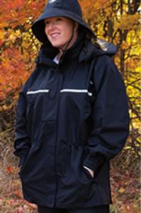 Muddy Creek Rain BLACK Jacket-Short