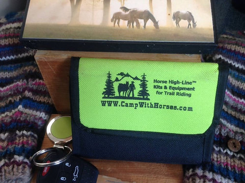 Wallet, Riders ID &/or Horse  Saddle Bag