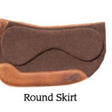 CSI SaddlePad w/FlexPlate Round Cut Skirt