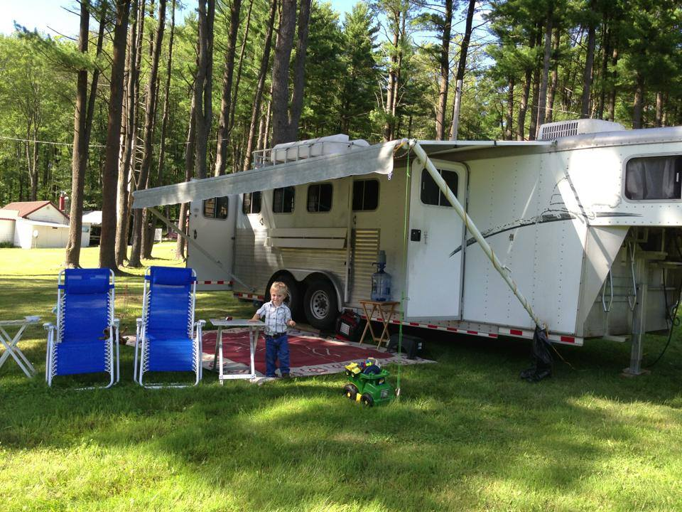 Camping With Horses in Our Rig