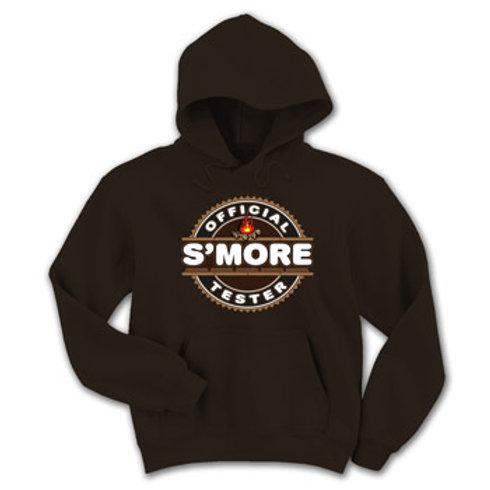 Official S'more Tester Sweatshirt Overhead 1-Pocket