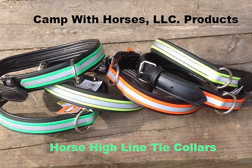 Reflective Horse-Tie Collar for High-Line